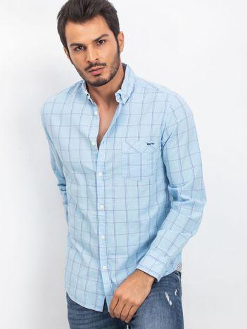 Jasnoniebieska koszula męska Survivor