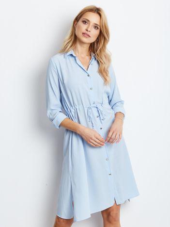 Jasnoniebieska sukienka Ambrosia