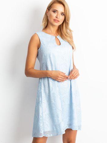 Jasnoniebieska sukienka Free