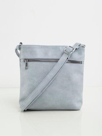 Jasnoniebieska torebka listonoszka