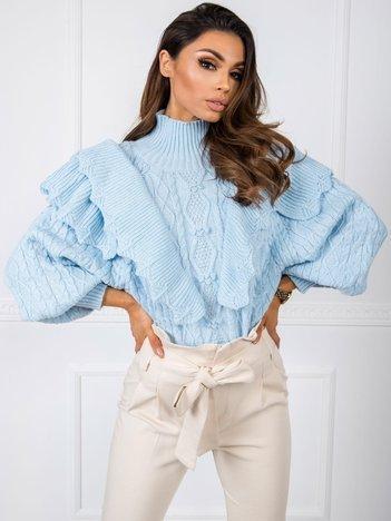 Jasnoniebieski sweter Rosie