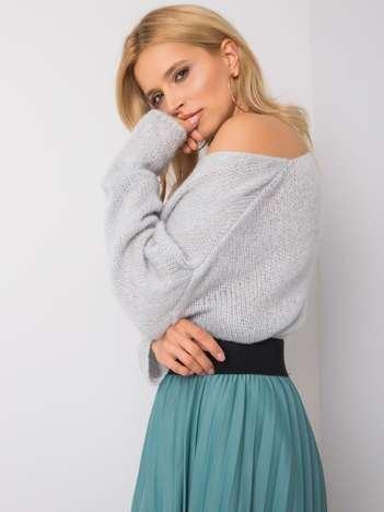Jasnoniebieski sweter oversize Stella OCH BELLA