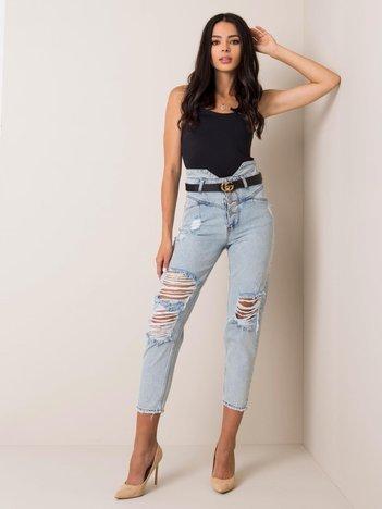 Jasnoniebieskie jeansy Lucia RUE PARIS