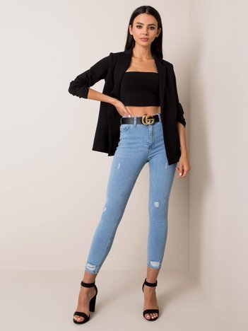 Jasnoniebieskie jeansy Nicky RUE PARIS