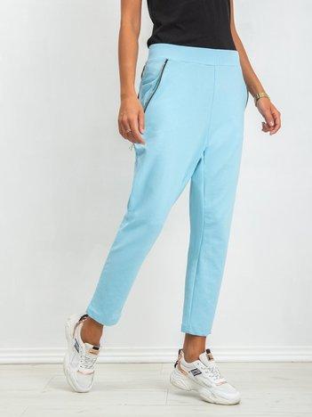 Jasnoniebieskie spodnie Lights
