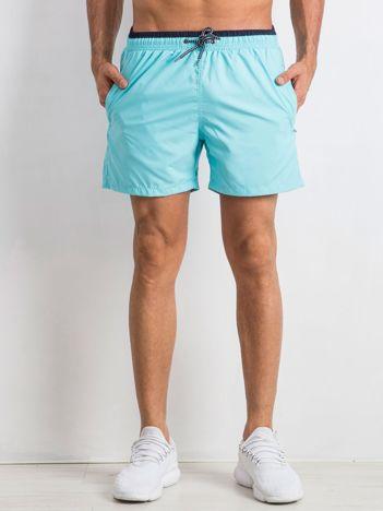 Jasnoniebieskie szorty męskie Venture