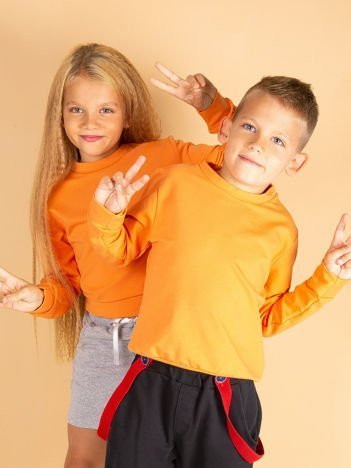 Jasnopomarańczowa bluza młodzieżowa