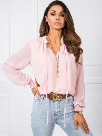 Jasnoróżowa bluzka Essie RUE PARIS