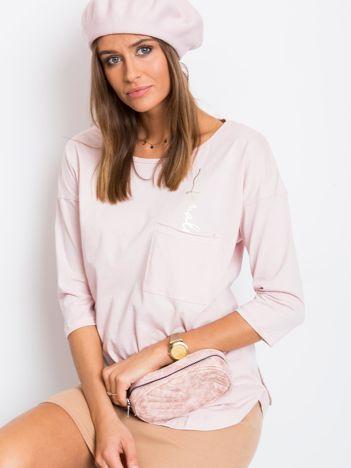 Jasnoróżowa bluzka Female