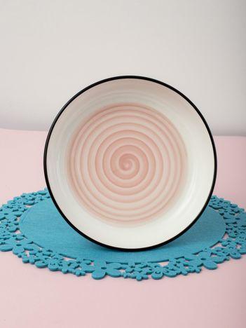 Jasnoróżowa miska ceramiczna