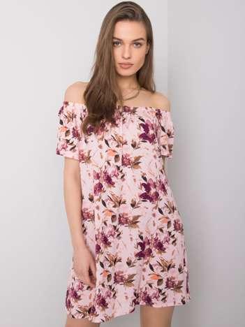 Jasnoróżowa sukienka hiszpanka Ardea FRESH MADE