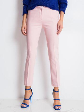 Jasnoróżowe spodnie Jessy
