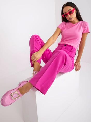 Jasnoróżowy t-shirt Peachy