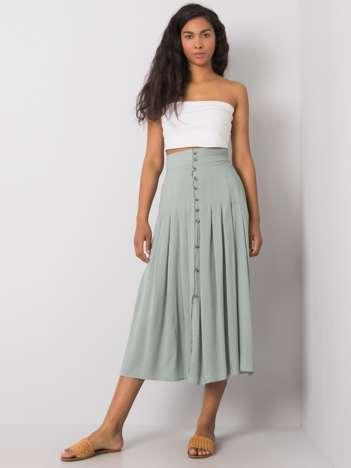 Jasnozielona spódnica Liselle