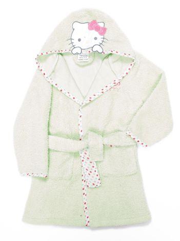 Jasnozielony szlafrok dla dziewczynki HELLO KITTY