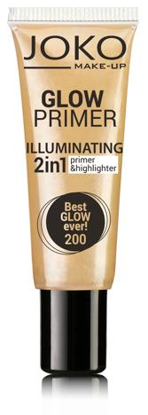 Joko Emulsja rozświetlająca 2w1 Glow Primer nr 200 best glow ever! 25ml