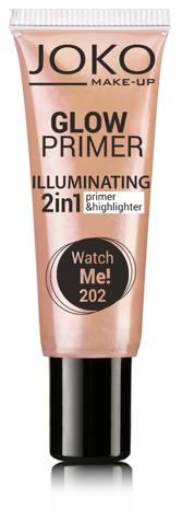 Joko Emulsja rozświetlająca 2w1 Glow Primer nr 202 watch me! 25ml