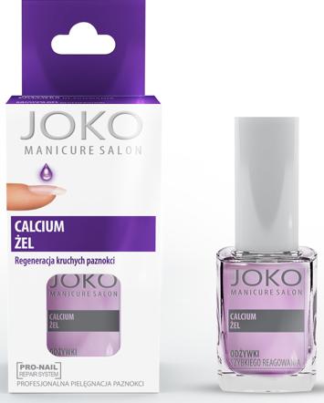 Joko Manicure Salon Odżywka do paznokci regenerująca Calcium Żel 10 ml