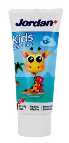"""Jordan Kids Pasta do zębów dla dzieci 0-5 lat  50ml"""""""