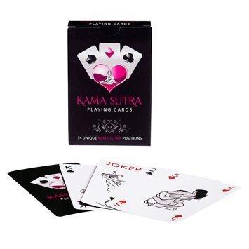 KAMASUTRA Karty do gry odkrywajace tajemnice seksu, dzięki którym każda para w swoim życiu erotycznym osiagnie szczyty maksymalnych doznań!