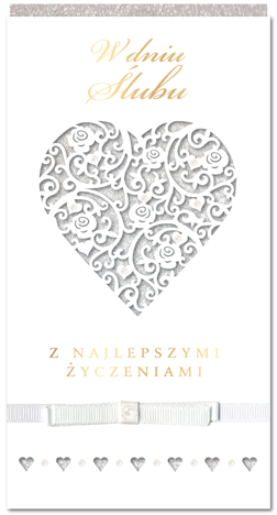 KUKARTKA Kartka W dniu Ślubu... Wyjątkowa i niepowtarzalna kartka z kolekcji Passion Moments