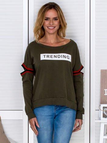 Khaki bluza TRENDING