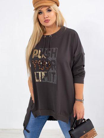 Khaki bluza plus size Totally