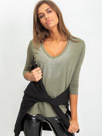 Khaki bluzka Ivy