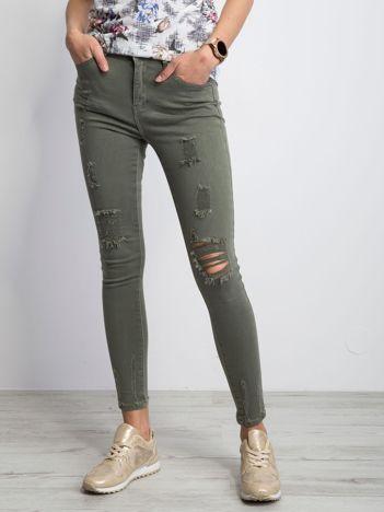 Khaki jeansy Lifestyle