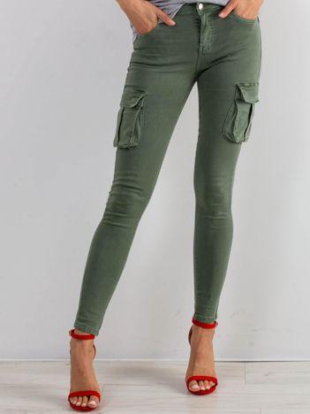 Khaki jeansy Vital