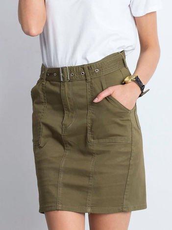 Khaki spódnica Growing