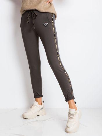 Khaki spodnie Affair