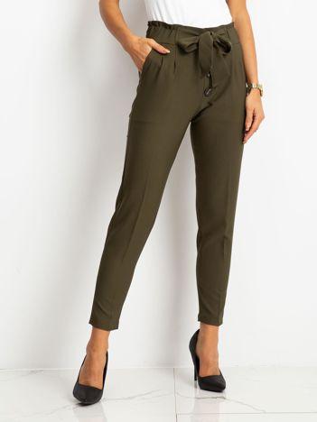 Khaki spodnie Devon