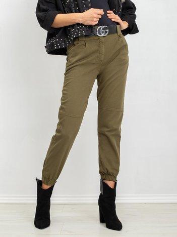 Khaki spodnie Fierce