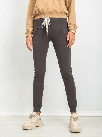 Khaki spodnie Free