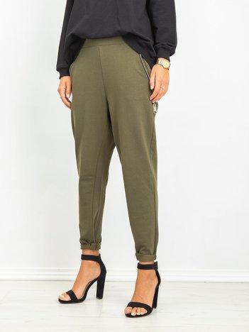 Khaki spodnie Lights