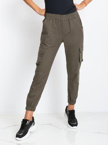 Khaki spodnie Sally