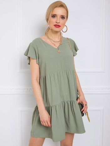 Khaki sukienka Angel RUE PARIS