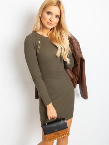 Khaki sukienka Desirable