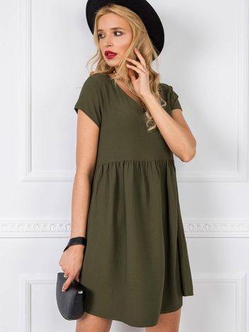 Khaki sukienka Erin RUE PARIS