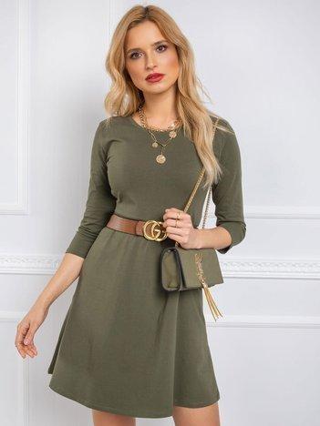 Khaki sukienka Leisa