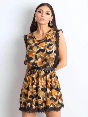 Khaki sukienka Publicity