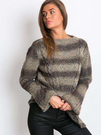 Khaki sweter Esta