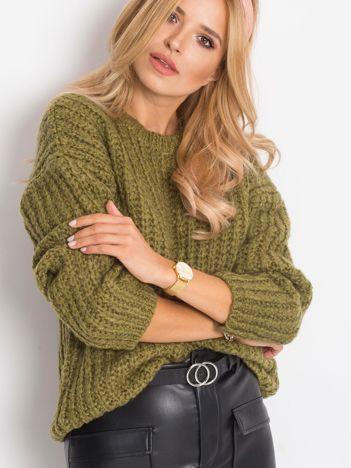 Khaki sweter Serende