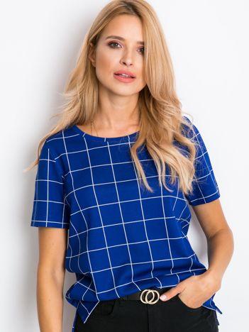Kobaltowa bluzka Denise