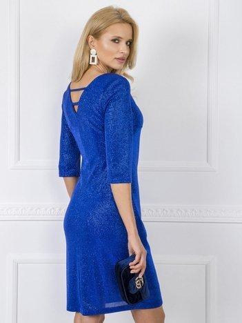 Kobaltowa sukienka Diamonds