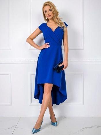 Kobaltowa sukienka Iva