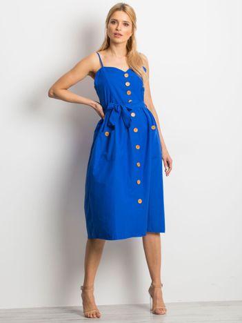 Kobaltowa sukienka Realm