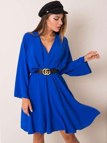 Kobaltowa sukienka Zayna