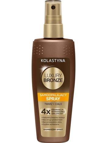 Kolastyna Luxury Bronze Spray samoopalający do twarzy i ciała 150 ml